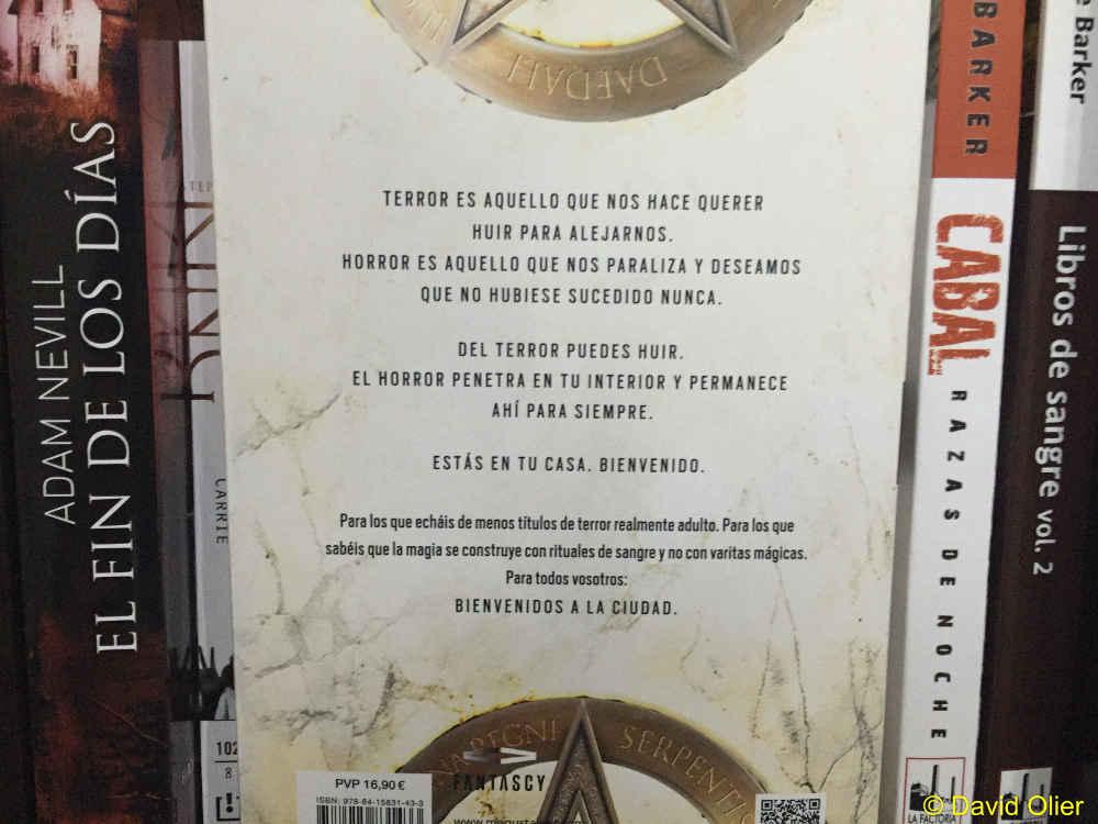 El Libro de Ivo - Contraportada