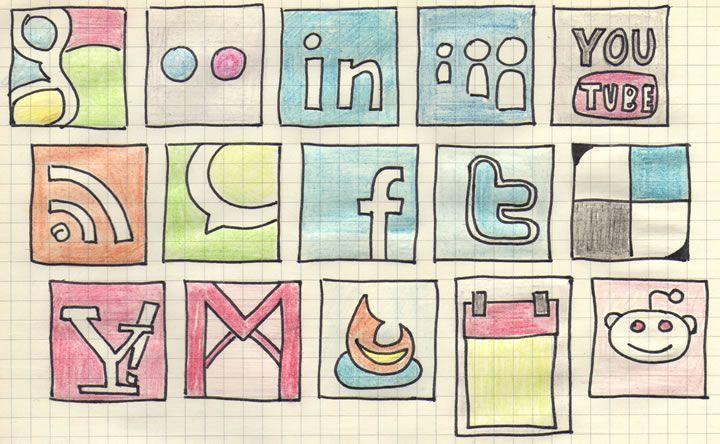 Escritores en redes sociales