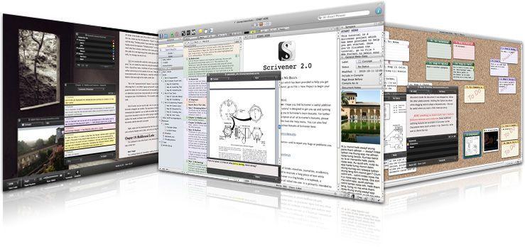 Como usar Scrivener para corregir un libro