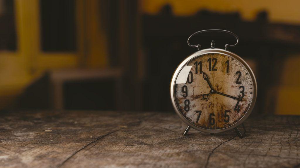 tiempo para escribir