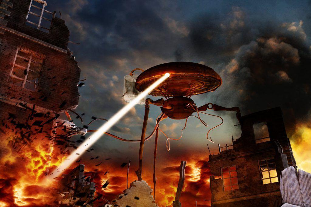 La guerra de los mundos terror y ciencia ficcion