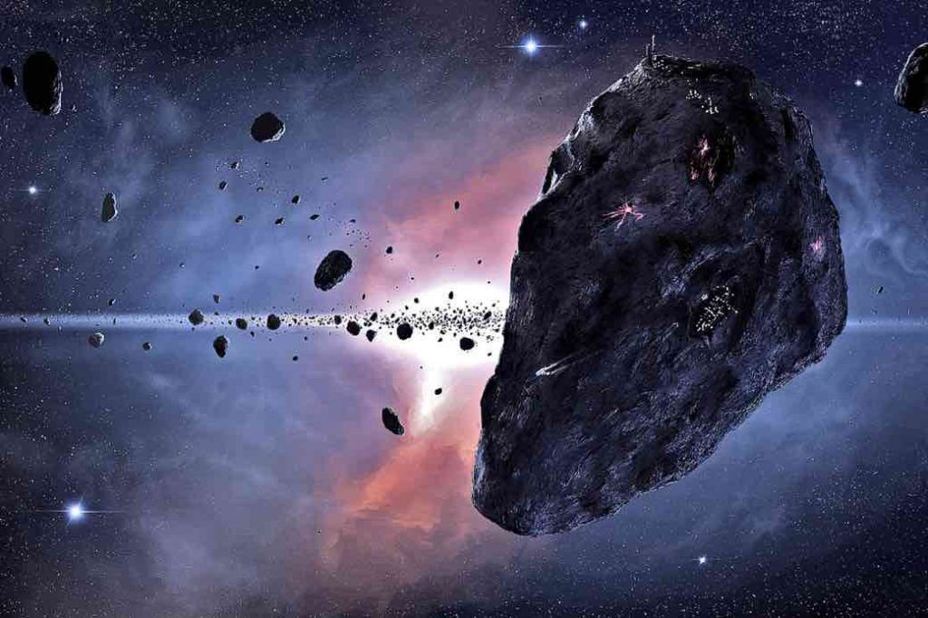 alimentación en el espacio colonia minera