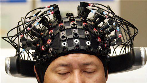Realidad virtual cerebro conectado