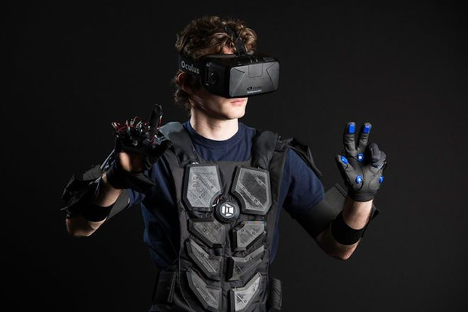 Realidad virtual traje de inmersion