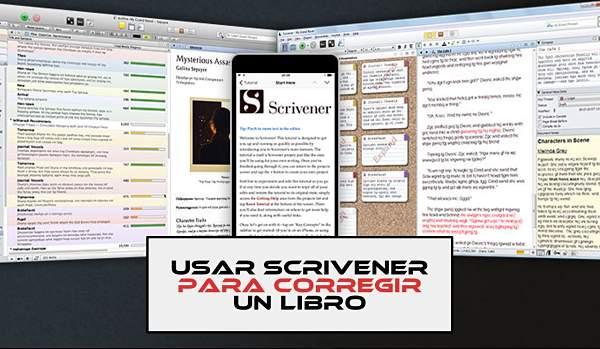 Cómo usar Scrivener para corregir un libro