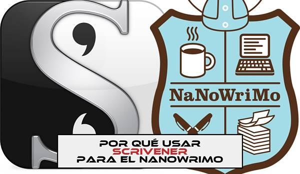 Por qué utilizar Scrivener para el NaNoWriMo