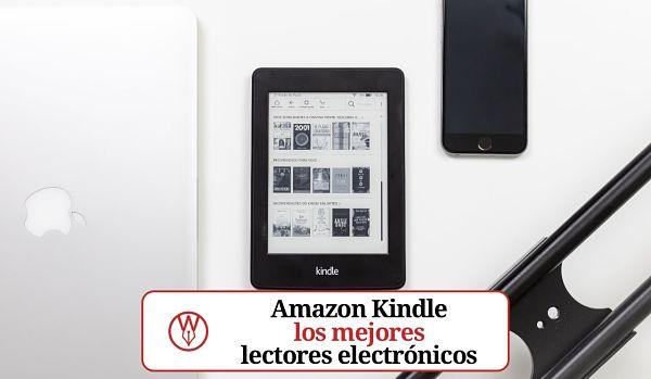 Amazon Kindle los mejores lectores electronicos