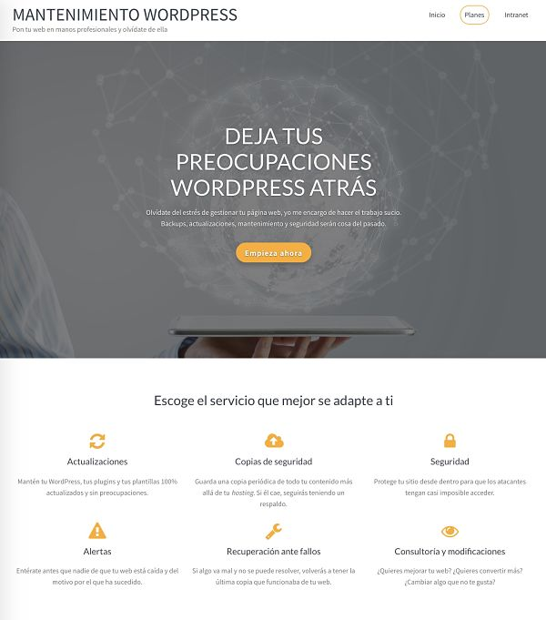 Balance de 2018: Mantenimiento Web en WordPress