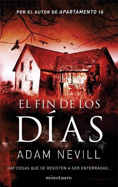 El fin de los dias de Adam Nevill portada