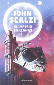 El imperio en llamas de John Scalzi portada