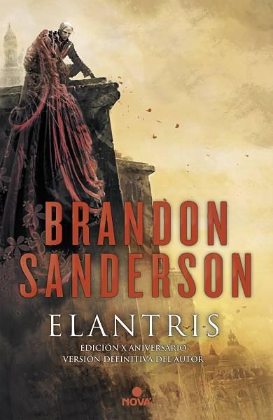 Elantris de Brandon Sanderson portada