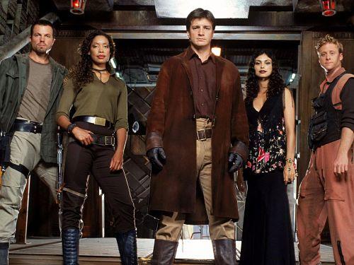 Firefly western space opera