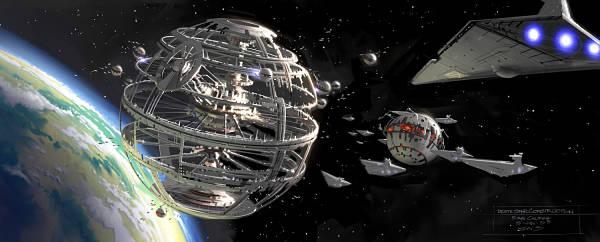 La ciencia ficción del coche eléctrico: Estrellas de la muerte