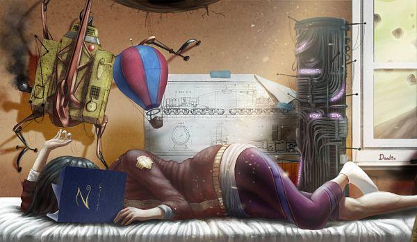 Libros de fantasia por JBMDoolio