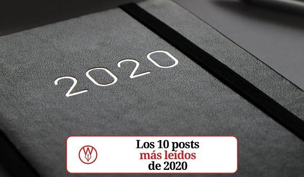 Los 10 posts mas leidos de 2020