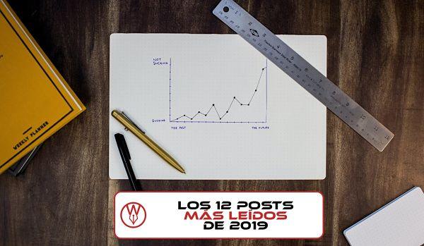 Los 12 posts más leídos de 2019