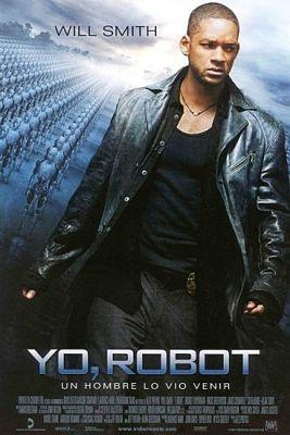 Cartel de la película cyberpunk de Yo, Robot