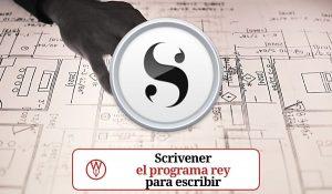 Scrivener: el rey de los programas de escritura