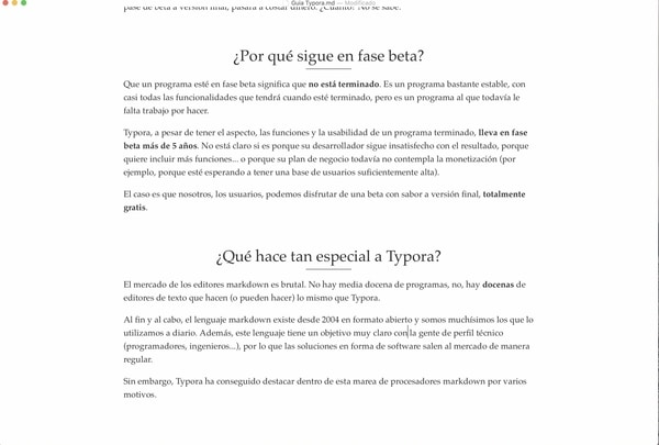 Typora editor de texto markdown gratis