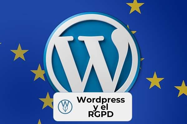 Escritores y RGPD con WordPress